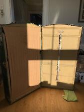 More details for vintage steamer trunk wardrobe