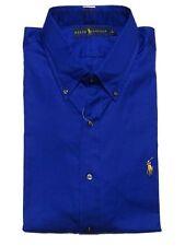 Bequem sitzende unifarbene Herren-Freizeithemden Ralph Lauren