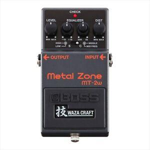 BOSS MT-2W METAL ZONE WAZA NEW Guitar Effects Pedal w/ FREE PICK new
