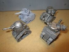 Warhammer 40k Ork Grot Tanks FORGE WORLD X4