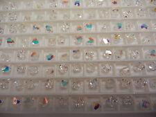 48 swarovski crystal graphic cube beads,4mm crystal AB #5603