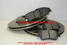 Nissan Note 1.4 1.6 16v 1.5 DCi MPV 2006 on  Vented Front Brake Discs & Pads