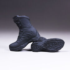 """Shoes Model 1/6 Scale Policewoman shoes Boots Model For 12"""" Female Body Model"""