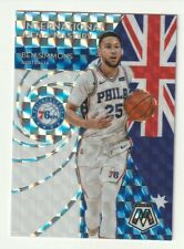 2019-20 Panini Mosaic Prizm Silver International Men of Mastery Ben Simmons SP