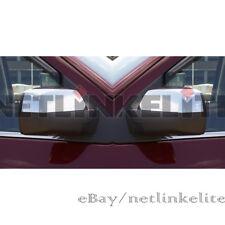 Fit for 2014 2015 2016 Chevy Silverado/GMC Sierra Chrome Top Half Mirror Covers