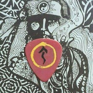RUSH Alex Lifeson 2007 Snakes & Arrows Tour red guitar pick