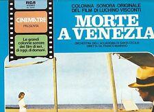 LP 3578  MUSICHE DAL FILM  MORTE A VENEZIA