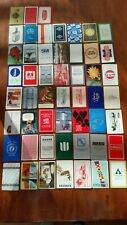 Vintage-Mod Playing Cards 52 Different Cards *Advertising* Complete Deck