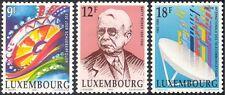 Luxembourg 1990 ITU-UIT/Communications/B Weber/Writer/Fun Fair 3v set (lu10100)