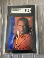 Kobe Bryant 1996-97 Upper Deck SP #134 Rookie SGC 9.5 🔥 Lakers GOAT 🐐iconic