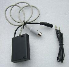 Audioadapter mit Schalter für Oldtimer Autoradio mit Buchse an MP3 3,5mm-> 6 Din