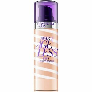 CoverGirl Simply Ageless 3-in-1 Liquid Foundation CHOOSE YOUR SHADE