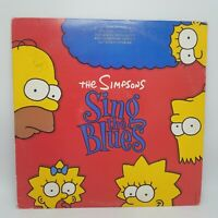 THE SIMPSONS Sing the Blues LP Master by Capitol on Geffen Wally VG+ PROMO