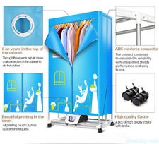 Portable Electric Clothing Dryer 1000W Heater Ventless Folding Drying Rack