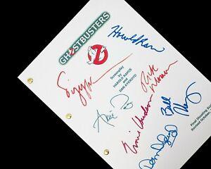 Ghostbusters Film Script Screenplay Signatures Autographs Reprint Bill Murray