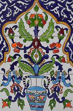 Fliesenbild Keramikfliesen Orient Handbemalt Wandfliesen Mediterran Mosaik 06 14