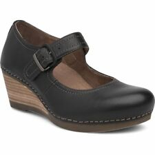 Dansko Shoes Womens Fun Sandra Milled Nappa 40 Black 1251021200