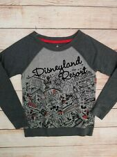 Disney Disneyland Resort Graphic Shirt Long-Sleeve Womens Size S NEW