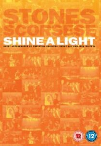 Rolling Stones Shine a Light DVD Region 2 PAL NEW