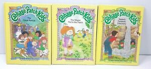 3 Bulk Cabbage Patch Kids Hardcover Books The Great Rescue Shyest Kid Xavier 80s