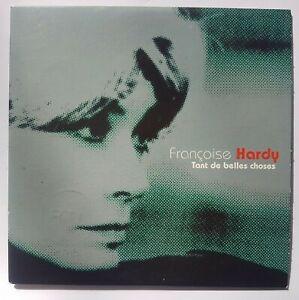 FRANÇOISE HARDY  : TANT DE BELLES CHOSES (RTL) ╚ CD PROMO CARDSLEEVE