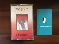 BOB JAMES - OBSESSION CASSETTE TAPE KOREA EDITION SEALED