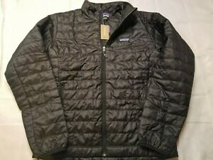 Patagonia Men's Nano Puff Jacket Black Small & Medium New with Tags