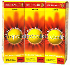 3 x Bottls Bee Health PROPOLIS Liquid - 30ml x 3