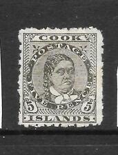 COOK ISLANDS 1902   5d   MAKEA   MH  SG 33