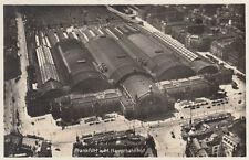 AK DE FRANKFURT (A). MANO EN Estación principal de tren Vista aérea 1930 (g2745)