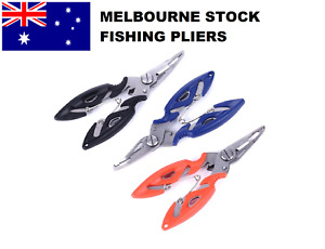 Fishing Pliers Scissors Line Cutter Braid Split Ring Tool Lip Grip TACKLE