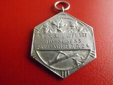 Weimarer Republik Schützenmedaillen* 1924 Silber/ca.15g.-35mm(Kof2)