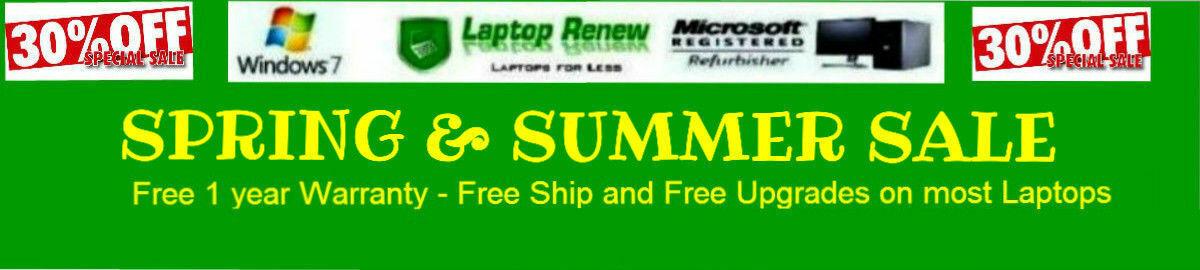 Laptop Renew