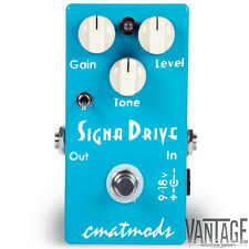 CMAT Mods Signa Drive Overdrive Guitar Effects Pedal - CMATMods