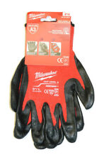 Milwaukee 48-22-8932 A3 Cut Level 3 Dipped Work Gloves - Large