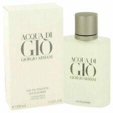 Acqua Aqua Di Gio Giorgio Armani 3.4 Edt Fragrance Spray Men Nib Cologne Perfume