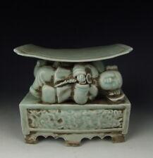 Chinese Antique Qingbai Glaze Jingdezhen Ware Porcelain Headrest