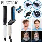 Hair Straightener For Men Multifunctional Curling Electric Brush Beard Comb