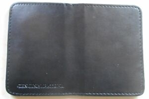 NYC Style Detective Mini Shield Bi Fold Wallet Only Family Member ID Pocket Also