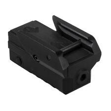NcStar Compact Pistol Green Laser w/ Strobe Mounts onto Picatinny Weaver Rails