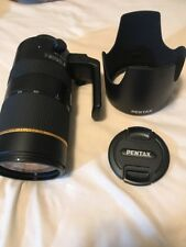 Pentax HD D FA 70-200mm f/2.8 ED DC AW Lens with Carrying Bag