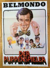 Puppenspieler (Kinoplakat '80) - Jean-Paul Belmondo