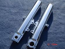 HARLEY CHROME LOWER FORK SLIDERS LEGS 4 FLHTCUTG Trike # 83819-09, Outright Sale