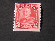 **CANADA, SCOTT # 181, 2c. VALUE DEEP RED COIL STAMPS1930-31 KGV ISSUE MVLH