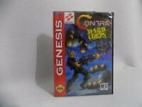 Contra Hard Corpse Sega Genesis Mega Drive.