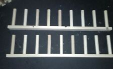 Wall mounted welly rack stand 2 x 4 pair. Wellington boot/tool holder FREEPOST