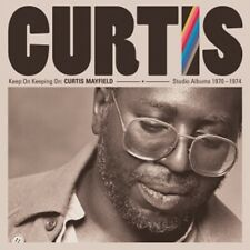 4-CD CURTIS MAYFIELD - KEEP ON KEEPING ON: STUDIO ALBUMS 1970-1974 (CONDITION: N