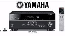 Yamaha RX-V673 7.2 Channel AV Receiver Cinema Amp  --100% Genuine-- RRP £499.99