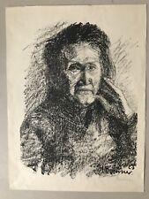 Heinrich Brenner ,Lithographie.Künstlergruppe Chemnitz 1907 bis 1933