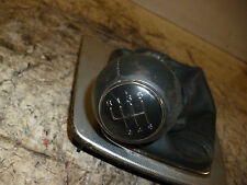 AUDI A4 2007 5DR SALOON S LINE 2.0 TDI LEATHER GEAR LEVER GAITER AND GEAR KNOB